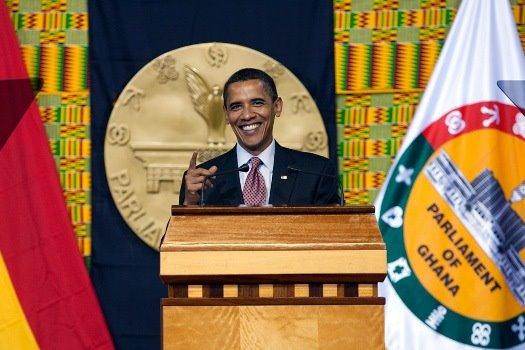 Obama en el Parlamento ghanés