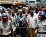 Opositores en Zimbabue