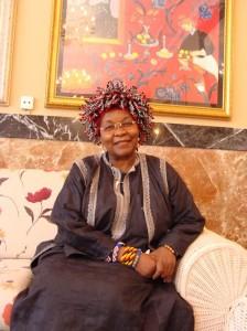 Alice Nkom, presidenta de la Asociación para la Defensa de los Presos Homosexuales en Camerún