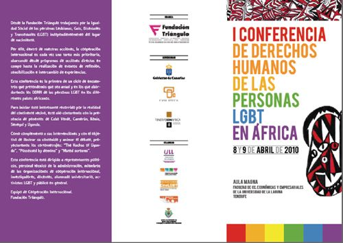 I Conferencia sobre los Derechos Humanos de las personas LGTB en África.