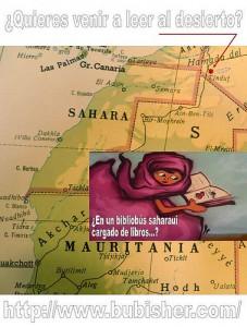 Letras en el Sáhara
