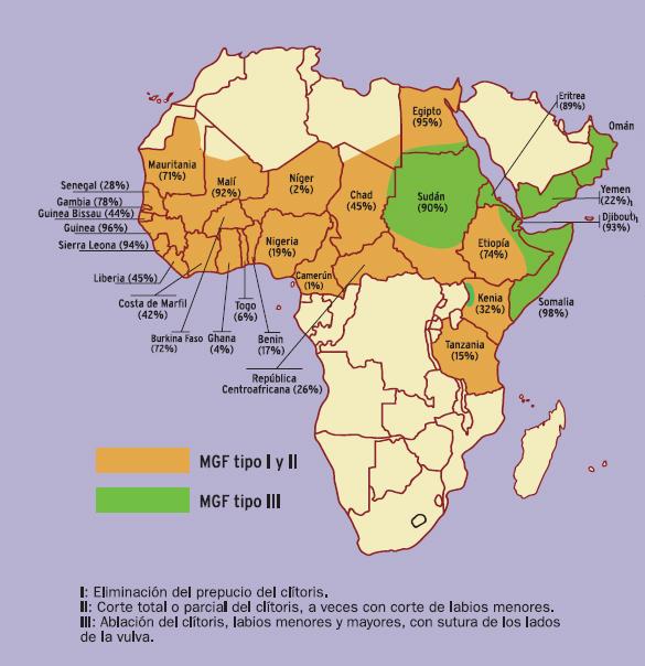 Africanas en lucha contra la mutilación genital