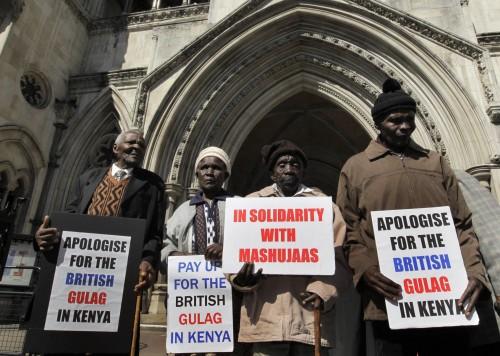 Justicia Internacional: los Mau Mau contra Inglaterra