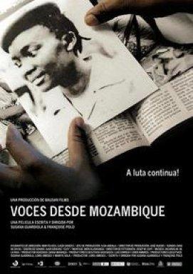 Cartel promocional de la película 'Voces desde Mozambique
