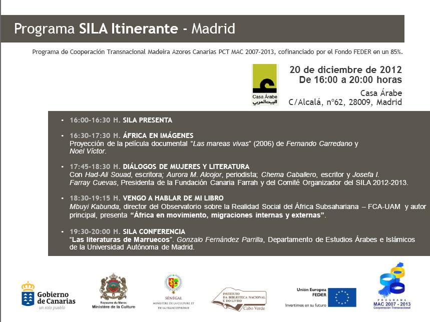 El Salón del Libro Africano, también en Madrid