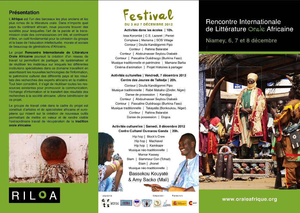 Encuentro Internacional de Literatura Oral Africana