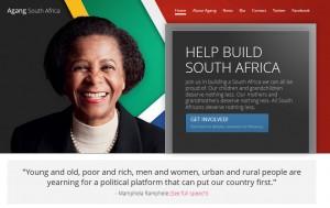 La activista anti apartheid Mamphele Ramphele anuncia la creación de un nuevo partido