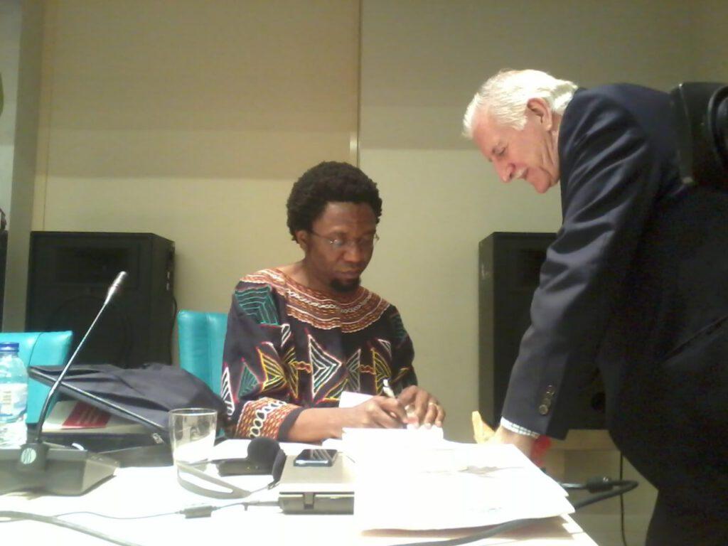 El escritor Patrice Nganang, detenido en Camerún