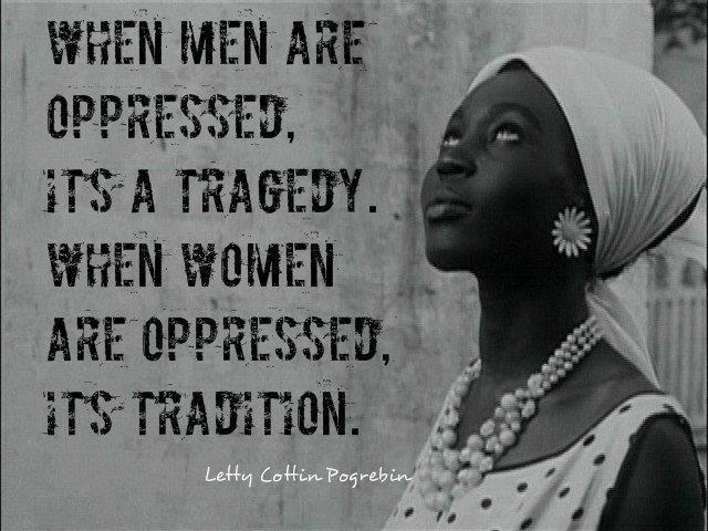 ¿Tradición o tragedia?