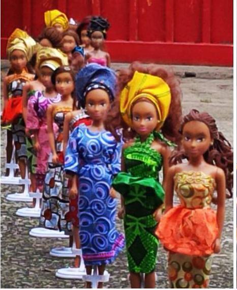 Queens of Africa, muñecas negras para cambiar el imaginario