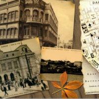 Fotos antiguas y mapa de Dakar histórico. Fuente: Altair Magazine