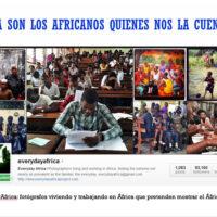 Imagen de la cuenta de Instagram del proyecto Every Day Africa