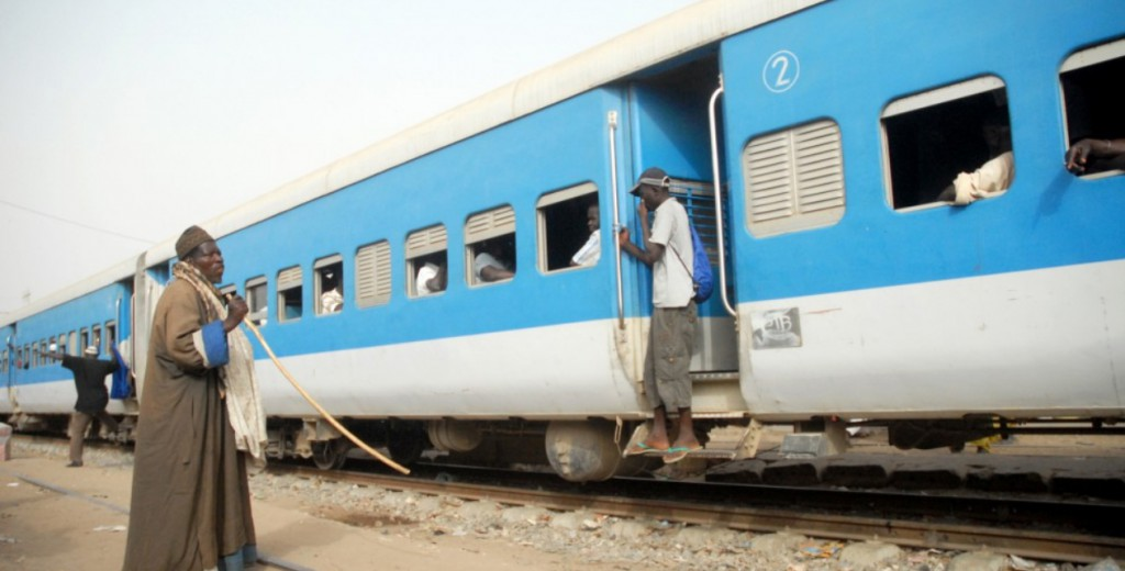 Estación de trenes de Dakar. Fuente: Mamadou Gomis / Revista Altair.
