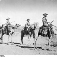 Deutsch-Süd-Westafrika, Kamelreiterpatrouille