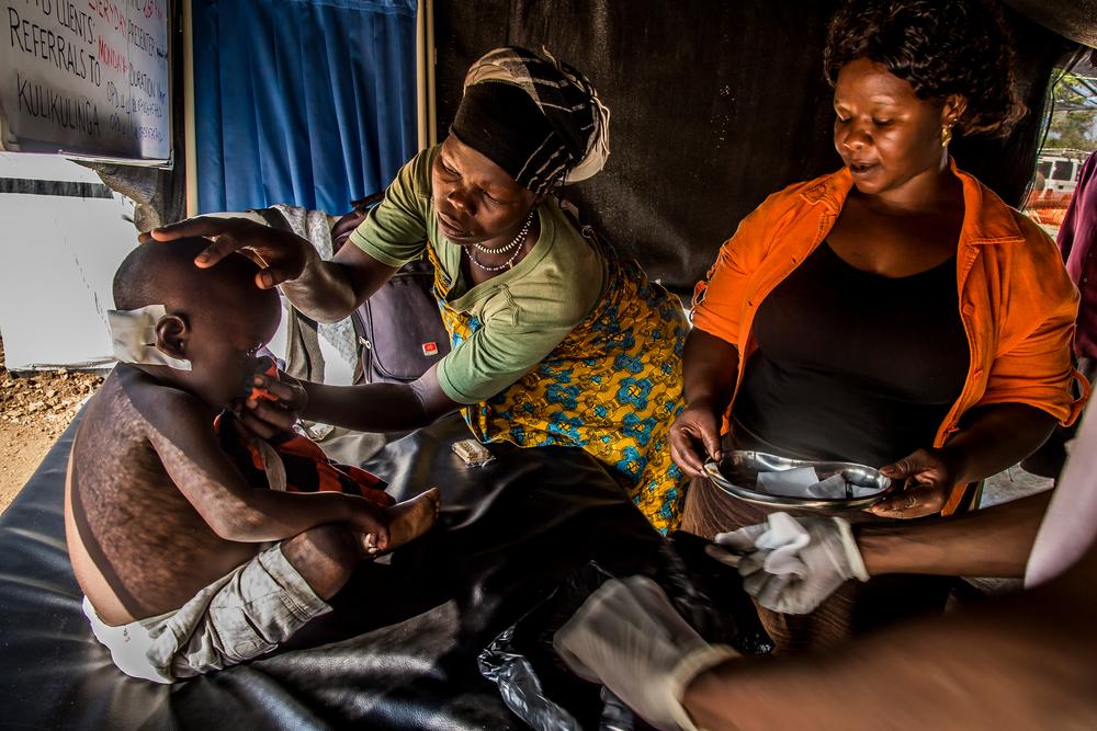 Uganda acoge ya a casi un millón de refugiados sursudaneses