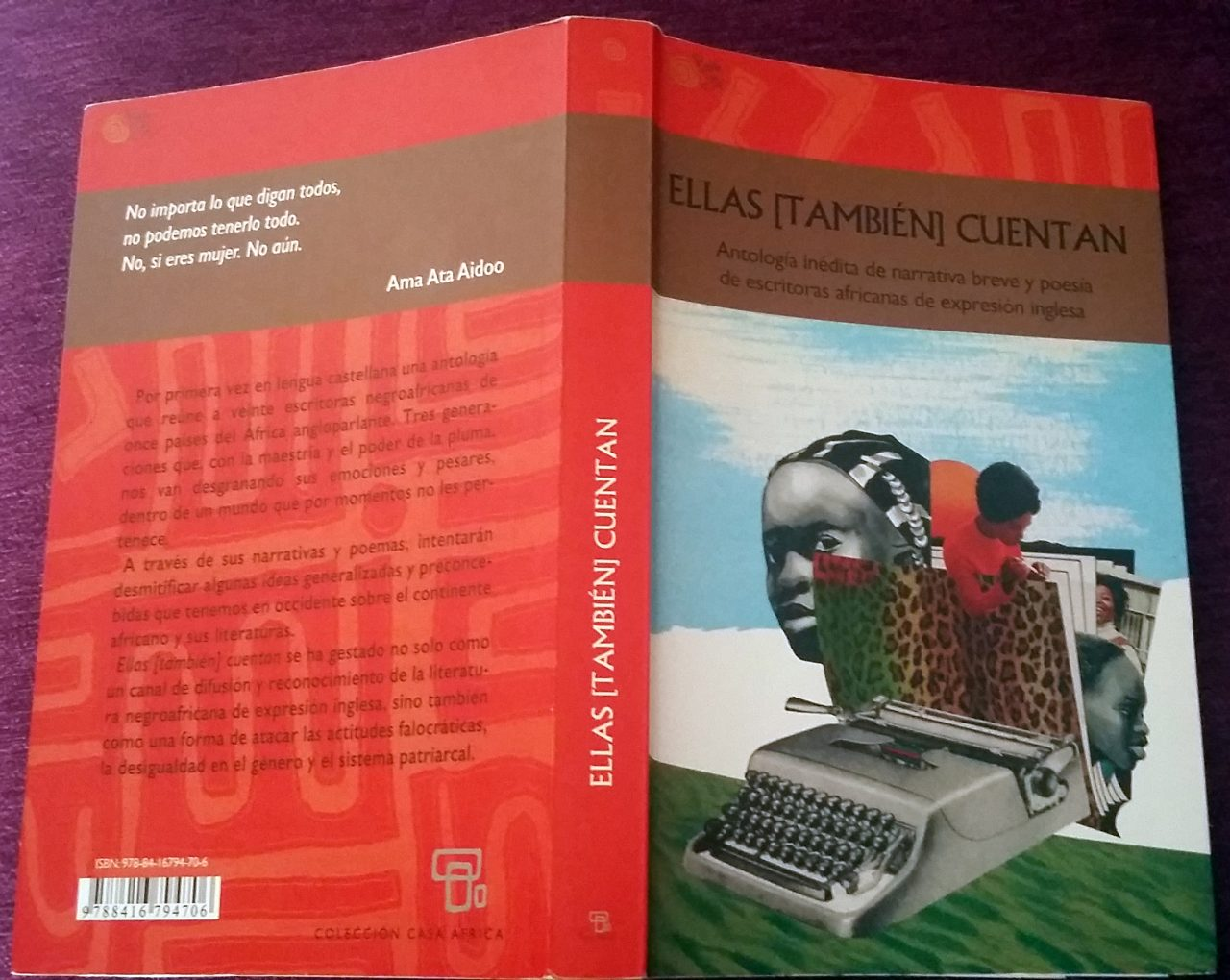 Ellas también cuentan: antología de escritoras africanas
