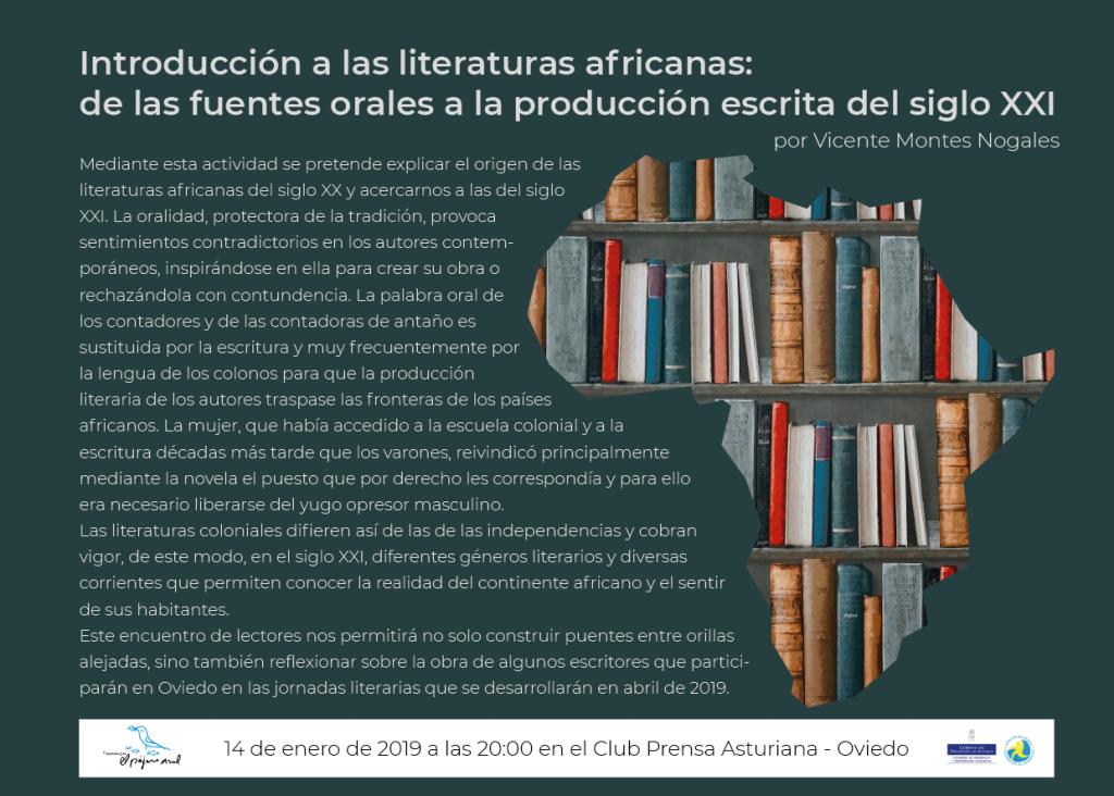 La migración africana a través de la literatura, en Oviedo