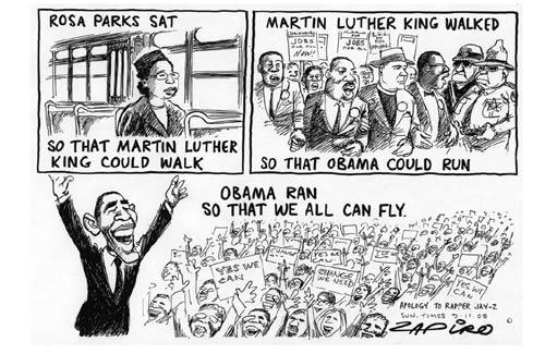 Una larga lucha contra la discriminación.