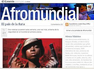 Recomendación: Afromundial