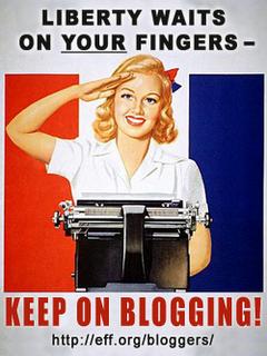 ¿Las mujeres blogueamos menos?