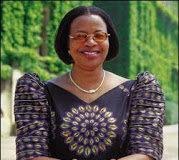 Graça Machel, política, profesora y activista social en Mozambique.