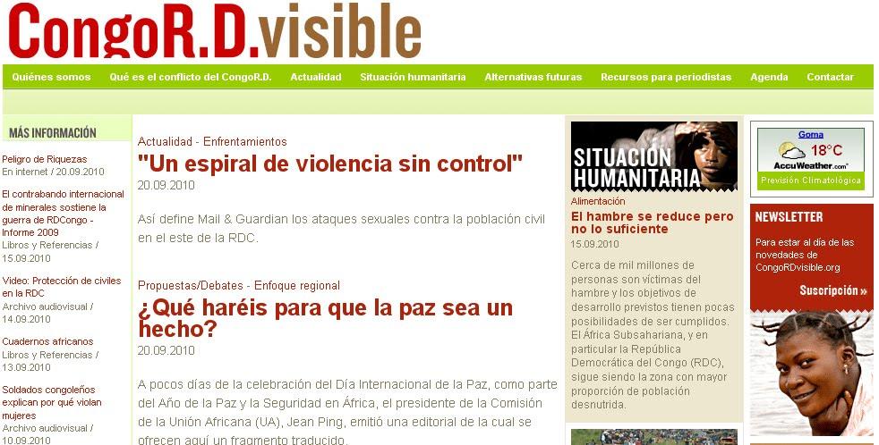 Congo R.D. visible