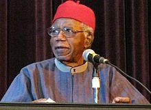 Me alegraría de otra muerte, Chinua Achebe