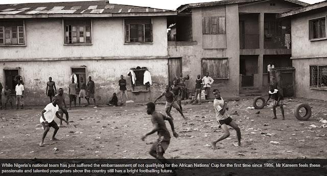Fútbol en las calles de Nigeria