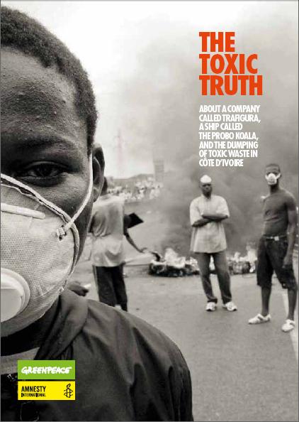 The Toxic Truth: vertido de desechos tóxicos en Costa de Marfil