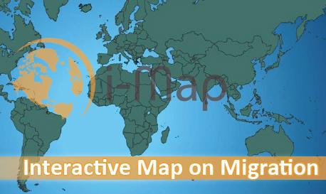 Mapa interactivo sobre migraciones