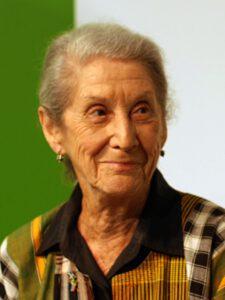 Nadime Gordimer, escritora sudáfrica