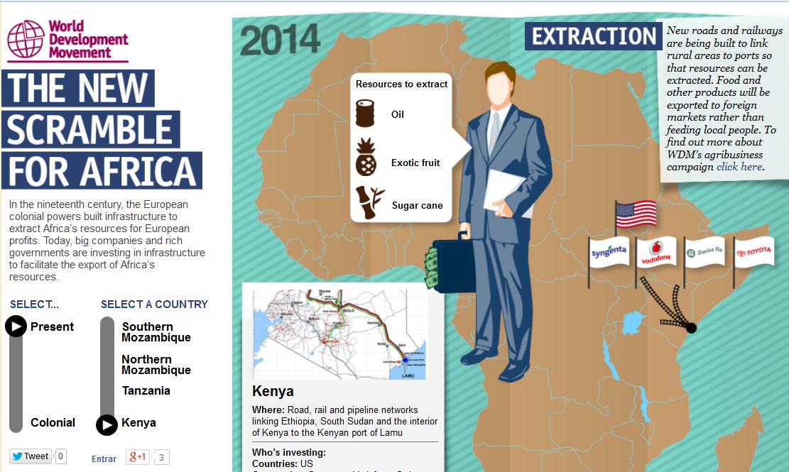 La nueva carrera por África