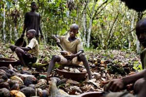 Tráfico de menores en África occidental
