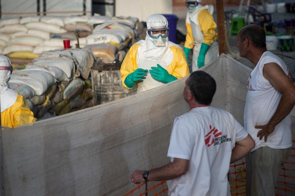 El drama del ébola