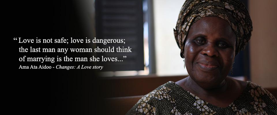 Ama Ata Aidoo, extracto del libro 'Changes'.