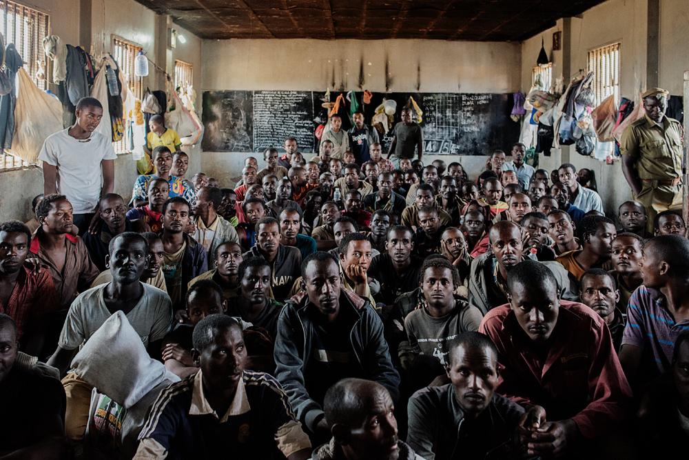 Prisión de Maula, en Lilongwe, Malawi. Foto MSF