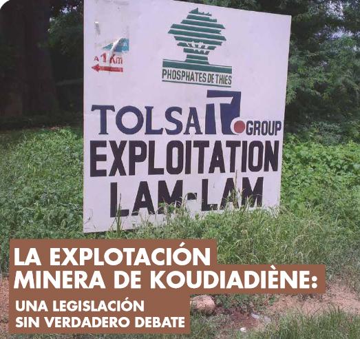 El caso de la explotación de fosfatos en una pequeña villa de Senegal