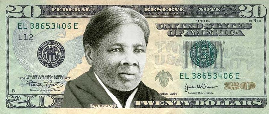 Harriet Tubman, una abolicionista y feminista en los billetes de 20 dólares