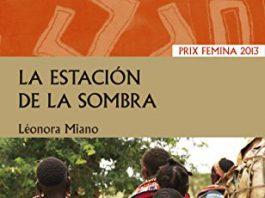 Portada del libro La estación de la sombra, de Leonora Miano.