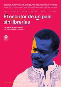 Cartel de la película El escritor de un país sin librerías.