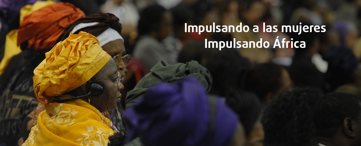 Mujeres en Africa.
